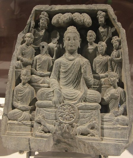651px-Gautama_Buddha_first_sermon_in_Sarnath
